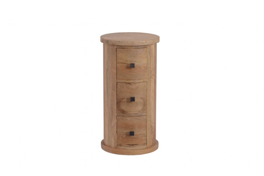 Silvasa Round 3 Drawer Chest